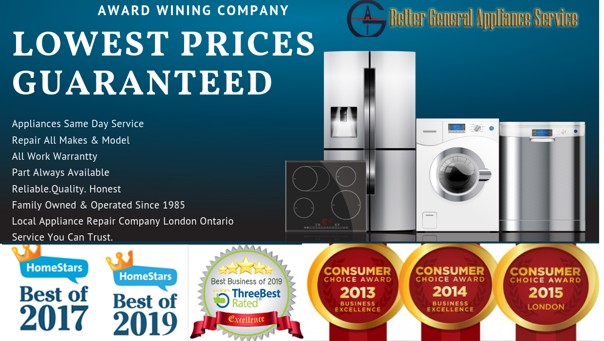 Appliance Repair London Ontario | Better General Appliance